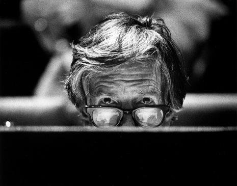John Cage. foto VINCENT MENTZEL 1988