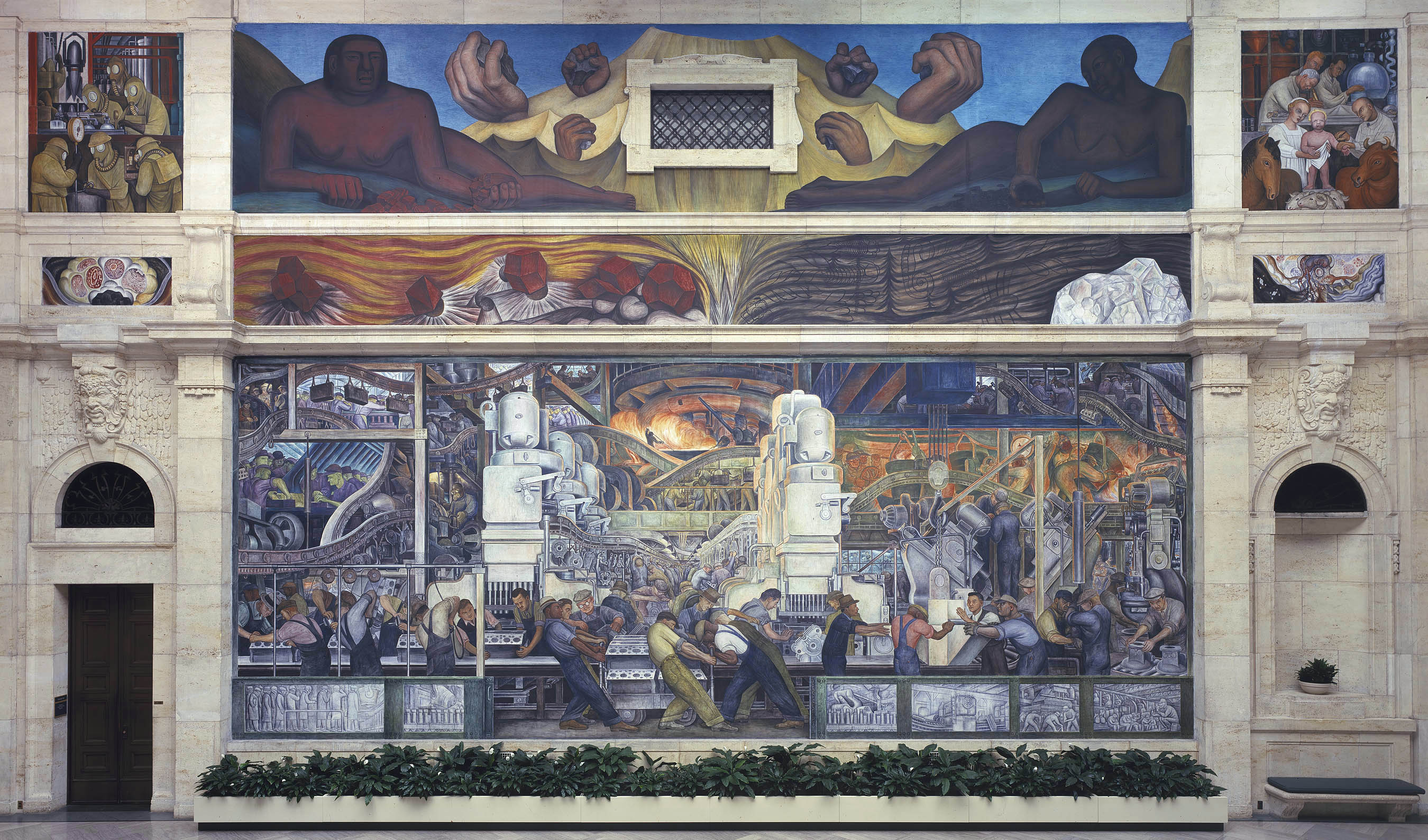 301 moved permanently for Diego rivera mural